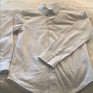 """Calvin Klein """"Ck"""" Kids boy dress shirt"""